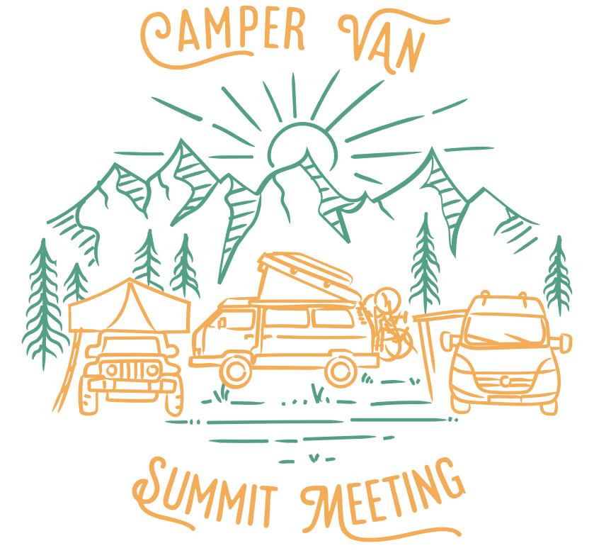 Camper Van Summit Meeting CVSM 2020 Logo